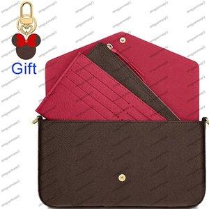 Дизайнерская сумка на плечо бренд дизайн классический узор из трех частей мода женская сумка высокое качество клатч мини дизайнерская сумка