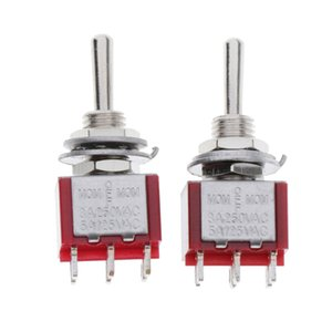 Interruptor Mini Polo Doble 125V / 250V 6A / 3A DPDT 6 Pin Toggle Switches Rocker
