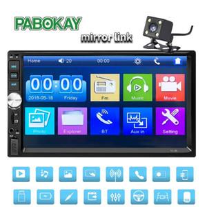 "2 din car radio coche recorder Bluetooth 2din 12v Player 7 "" HD сенсорный экран MP3 MP5 auto Audio Stereo TF USB FM Autoradio 7012b"