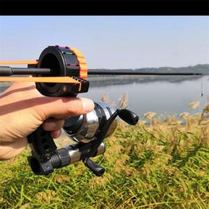 السمك اطلاق النار القوس السهم كامل الملحقات مجموعة بكرة أدوات الصيد أجزاء مقلاع الرماية سلامة الهدف عدة الصيد المنجنيق حبال