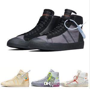 Nuove sneaker da uomo Mid 2.0 Spooky Grim Reepers Tutti i doni Vigilia bianca Scarpe da corsa Donna Casual Off Trainer Skateboard Blazer Scarpe con scatola