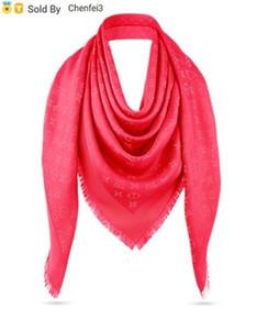 Chenfei3 2D7U bege tamanho cinza azul marrom rosa vermelha 140 * 140cm lenços envoltórios lã de seda xales Moda Pashmina Com tag etiqueta e