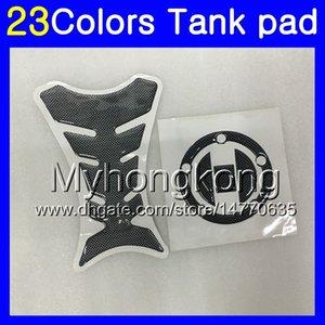 Fibra de Carbono 3D tanque Pad Para Suzuki GSX-R1000 05 06 07 08 GSXR 1000 GSX R1000 K5 K7 2006 2007 2008 MY157 tanque de gás Cap Protector adesivo decalque