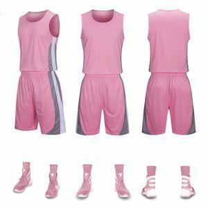 Баскетбол Подавать костюм Schoolboy Джерси Обучение Vest студент колледжа движения Match Джерси Group Printing