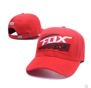 New FOX Motorsport Lazer Cap homens e Cap Corridas Desportos boné de beisebol Peak Plano de equitação de Mulheres