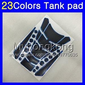 Fibra del carbón 3D del cojín del tanque para BMW K1200S 05 06 07 08 K1200 S K K 1200 S 1200S 2005 2006 2007 2008 calcomanías etiqueta engomada MY176 Gas Tapa del tanque Protector
