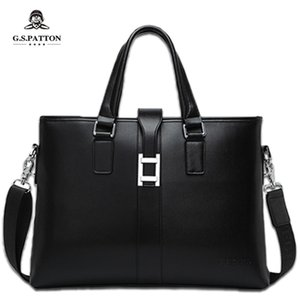 Manufacturers New Button Handbag Mens Shoulder Briefcase Online Shop Brand Bag Custom Wholesale