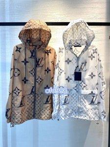 muchachas de las mujeres de gama alta sobredimensionan sudaderas con capucha carta cazadora con capucha cuello motivo de cremallera de manga larga pasarela de moda ropa de abrigo tapas