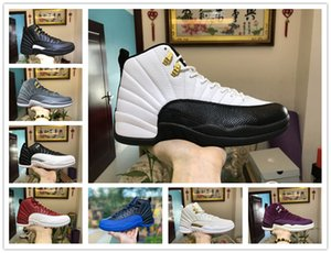 Mens Basketball shoes 12 12s Dark Grey Flu game Royal The Master 11 11s Bred Concord Space jam men Women sports sneakers