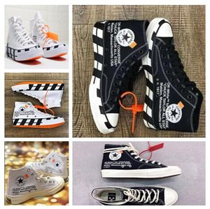 2020 New Chuck 1970 Converse off white  Running Shoes Offwhite 1970S Canvas Men Women OW plimsolls White Casual Chaussures