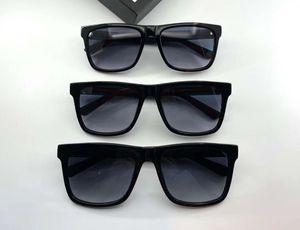 0340S Black Multicolor Gray Square Sunglasses 0340 Men Fashionsunglasses eye wear New with box
