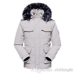 panno cappotto di inverno di alta qualità a freddo all'aperto Ski Park 2019 nuovo livello superiore Uomini Giù caldo Outdoor Sports Down Jacket della donna