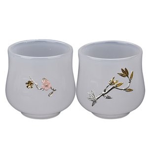80ml Jade Porcelain Tea Cup Ceramic Cups Master Coffee Mug Luxurious Teacups Master Water Cup Teaware Drinkware Decoration Craft