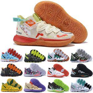 Kyrie 5 V zapatos para hombres de alta calidad de Irving 5S Ikhet Celtics Negro Mágico faraón Taco camuflaje Primera marca de moda de lujo Tamaño de Estados Unidos 12