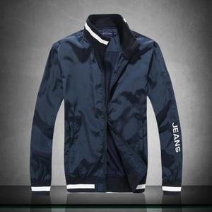 2019 Nueva Primavera PT1902 delgada cazadora chaqueta de los hombres a estrenar de primavera Slim Fit Hombres jóvenes cazadoras con capucha jaqueta masculina