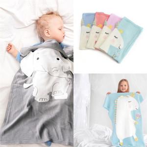 아기 유니콘 담요 입체 음향 어린이 담요 뜨개질 패션과 인기 뜨거운 판매 블루 레드 그린 컬러 44js J1
