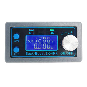 DC DC Buck Boost convertidor ZK-4KX 0.5-30V 4A 5V 6V 12V 24V módulo de alimentación ajustable de suministro de energía regulada montado en panel
