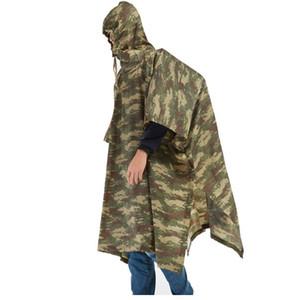 QIAN Impermeable Rain Poncho Women Men Jungle Raincoats Backpack Camouflage Rain Coat Cycling Climbing Hiking Travel Rain Cover