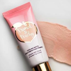 Dropshipping Primed Peachy Cosmetics 40ML 쿨링 매트 스킨 퍼펙 팅 프라이머로 PeachSweet Fig Cream Faced Foundation Primer ..