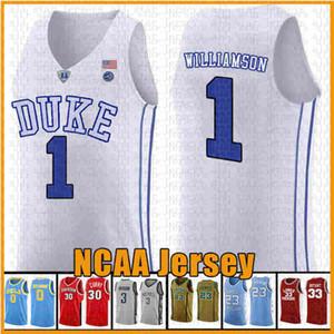 2020 Взрослый RJ 5 Barrett Гулка Голубые дьяволы NCAA College Баскетбол Джерси Камера 2 Reddish RJ 5 Barrett Blue White Black Jerseys Вышивка Логос