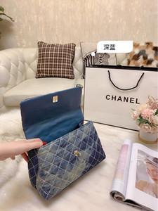 diseñador de bolsos de las mujeres mensajero bolsas de un solo hombro crossbody caja de regalo bolsa para el polvo buena calidad de cuero de estilo clásico bolsa de sillín