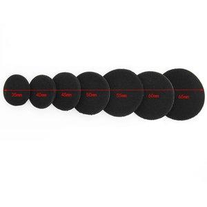 2pcs auriculares en la oreja de la cubierta de reemplazo Sponge tapón de espuma del cojín 35 / 40M / 45/50/55/60 / los 65MM Accesorios auricular