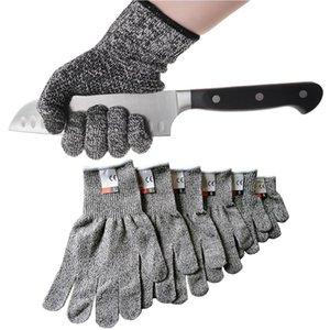 Горячие Супер инструменты HPPE Cut стойкие перчатки Уровень 5 Защита Высокая производительность Многофункциональный приусадебном перчатки S-XL Инструмент