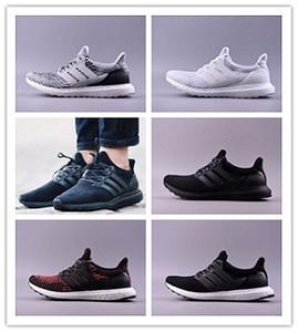 Adidas Utral Boost 3.0 Yüksek Kaliteli Ultrabost 3.0 4.0 Koşu Ayakkabıları Erkek Kadın Ultra Bost 3.0 III Primeknit Beyaz Siyah Spor Sneaker Çalışır 36-47