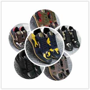 2019 scarpe da uomo nuove piene di personalità Serie primavera precoce camuffamento fornitori di alta qualità colorato pieno di personalità