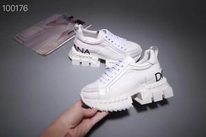 scarpe casual tinta unita con suola larga Coppia Beauty Sneaker stile Snake Muffin sneaker donna e uomo unisex