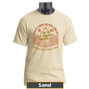 El más nuevo diseño de camiseta, fabricado en las camisetas de la costa oeste.