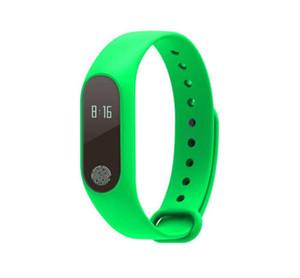 M2 Bluetooth 4.0 Ip67 Waterproof Oled Touch Heart Rate Oxygen Sleep Monitoring Alarm Clock Remote Photo Sports Smart Watch Bracelet