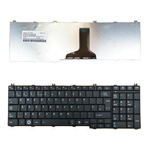 Dizüstü İngilizce Klavye Montaj için Toshiba Satellite C650 C655 UK