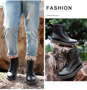 2020 Best Quilty Man Woman Eegland Stly Martens Leather Winter Warm Shoes Designer Motorcycle Boots Ankle Boot Oxfords Martin Boots EU 36-46