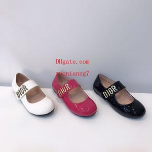Été nouveau style simple, plat facile à porter filles de haute qualité et des chaussures de marche antidérapants pour enfants