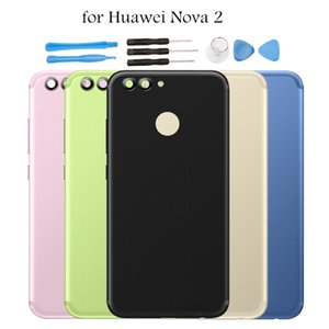 """5.0"""" for Huawei nova 2 Battery Back Cover Rear Cover Metal Housing Door for Huawei Nova2 Battery Back Cover Spare Repair Parts"""