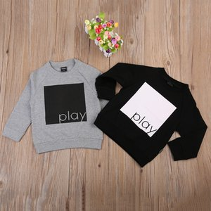 Autumn Winter Toddler Baby Tops Infant Boys Girls Sweatshirt Pullover Warm Cotton Hoodies Clothes Tees Little Kids Child Shirts