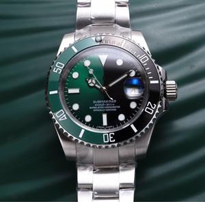 8215 designer de movimento relógios espelho de vidro de safira luminosa montre De Luxe caixa de aço inoxidável nd 44 / 13m montre de luxe