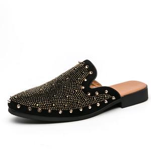 Quaoar Hommes Classique Chaussures Casual cadeau d'anniversaire Mocassins Mode Homme Chaussures confortables respirant hommes de velours