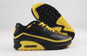 90 Pale Ivory мужские кроссовки Be True Mixtape Тройной черный Белый Мужчины женщины Классический желтый красный спортивный тренер Подушка Поверхностные кроссовки