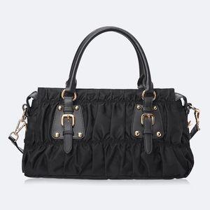 Toptan moda klasik kadın haberci çantası naylon oxford branda torba Avrupa ve Amerikan kat çanta tek omuz diyagonal çantası