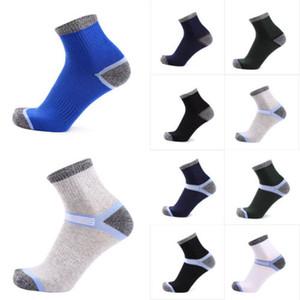Hirigin 2017 Erkekler Sıkıştırma Çorap Topuk Erkekler Çorap% 100 Pamuk Mürettebat Moda Spingy Anti-Pilling Çorap Ücretsiz Kargo