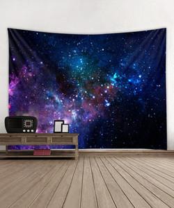 벽 장식 예술 비치 타월 목도리 플래그 매달려 광대 한 하늘 별이 빛나는 하늘 은하 인쇄 Bohem 인도 태피스트리를 집들이 선물