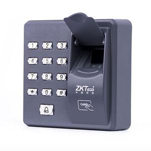 Empreinte digitale Contrôle d'accès autonome Contrôleur de porte unique moins cher Clavier autonome doigt + carte RFID X6 porte d'entrée