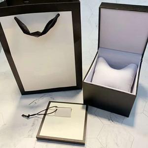 alta calidad precio al por mayor venta caliente de lujo de fábrica de proveedores caja de reloj caja Woodenpaper Papeles Tarjeta de Cajas LOGO Reloj Caja con bolsa de la tienda