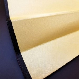 Mão Folding Fan homens de bambu preto Spun Silk Caligrafia Pintura Escrever Dança chinesa parou Wedding Party Favor (Yellow) Outros Início