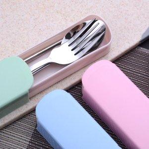 Set couverts en acier inoxydable sourire Dinner Sets Western couteau fourchette cuillère dîner cuillère Vaisselle Vaisselle Couverts DHL gratuit LXL921AQ
