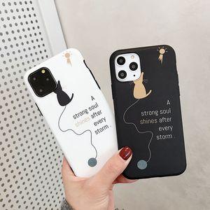 Cat Silicone Soft Case For iPhone 6s 6 s 7 8 Plus Xs Max XR X 10 5 5s SE 6Plus 6sPlus 7Plus 8Plus Cell Phone Cover Promotion
