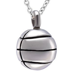 ZZL114 Argent, Or, Noir et Or Rose Collier Cool Boy Basket Basket Forme Mémorial Urne Médaillon Tenir Cendres Inoxydable Pendentif Urne De Crémation