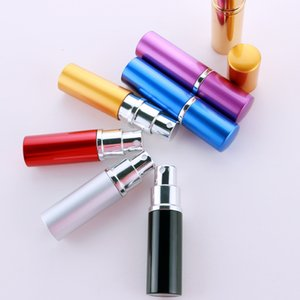 10ML Mini Portable For Travel Aluminum Refillable Perfume Bottle With Spray&Empty Cosmetic Containers With Atomizer Parfum Bottle